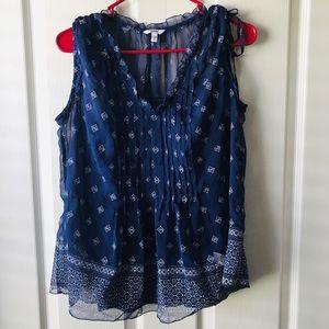 Sonoma Sleeveless layered blouse